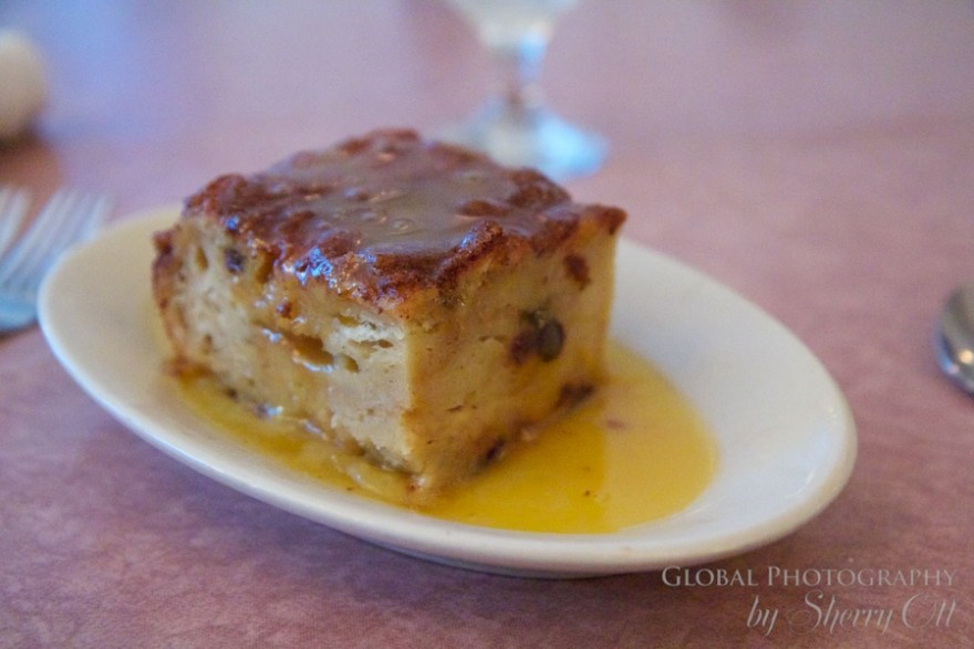 bread pudding rum butter