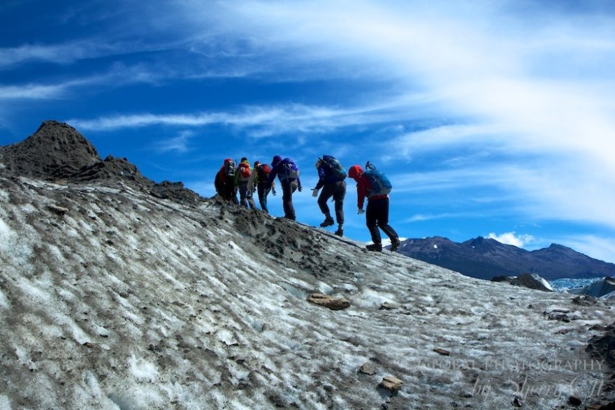hike Viedma Glacier Argentina