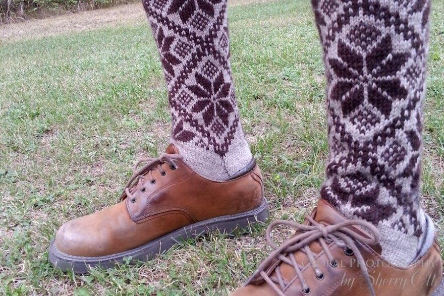 Fun wool socks