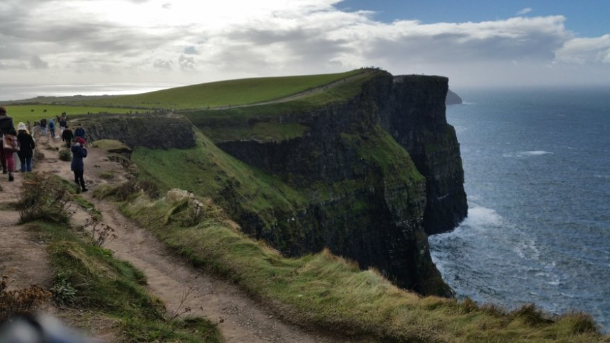 The Best Hikes in the World - Cliffs of Moher - Ireland