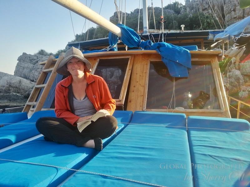 boating Mediterranean Lycian Way