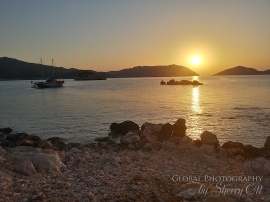 hike the lycian way by boat