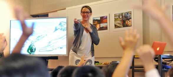 teaching raise hands