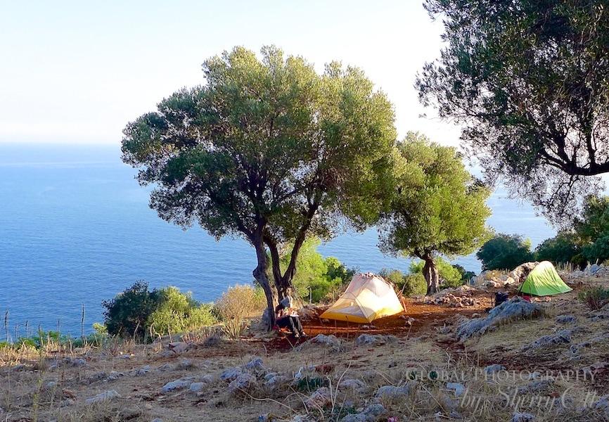 camping Gelidonya lighthouse lycian way