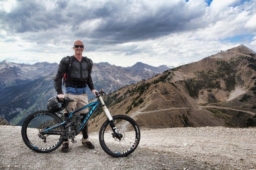 mountain biking kicking horse mountain