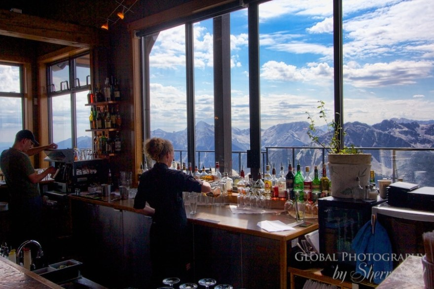 Eagles Nest Bar Kicking Horse Mountain