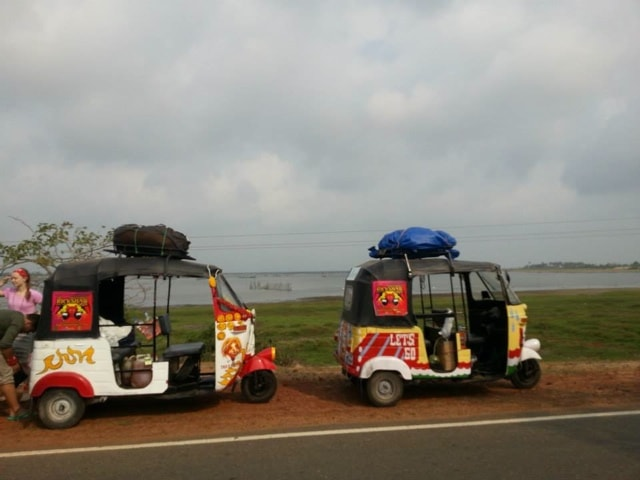 rickshaws take a rest