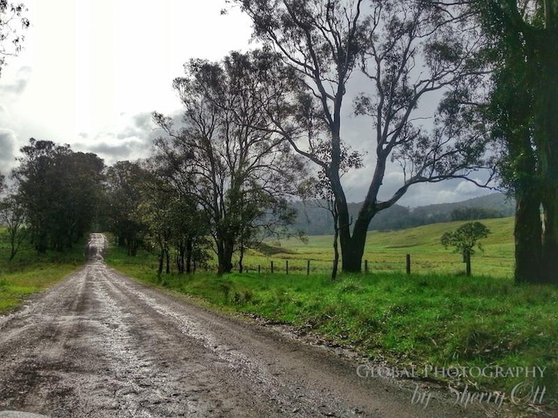 gravel road australia
