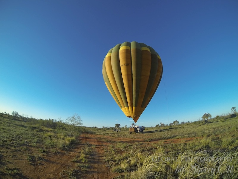 hot air balloon nothern territory