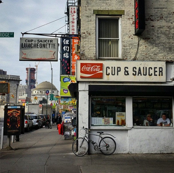 lower east side cup and saucer