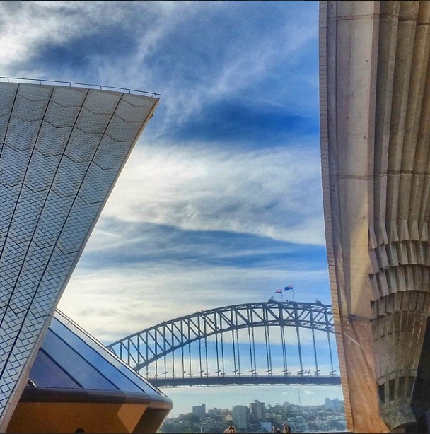 sydney harbor bridge opera house