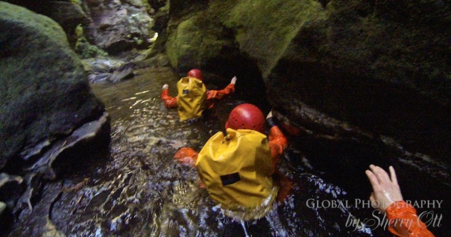 Canyoning in Empress Canyon