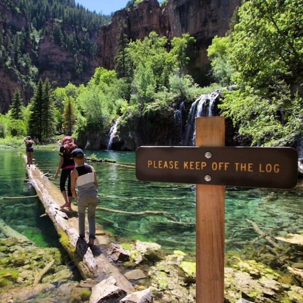 Hanging Lake Colorado Rockies
