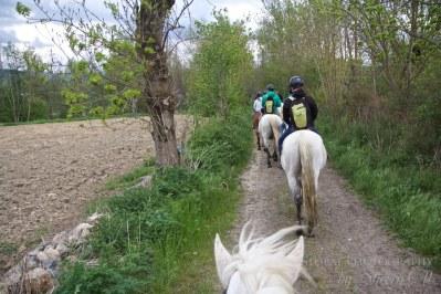 Riding around Llivia