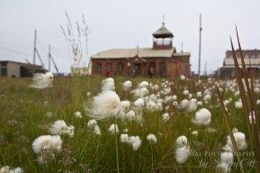 Russian Far East Lavrentiya church