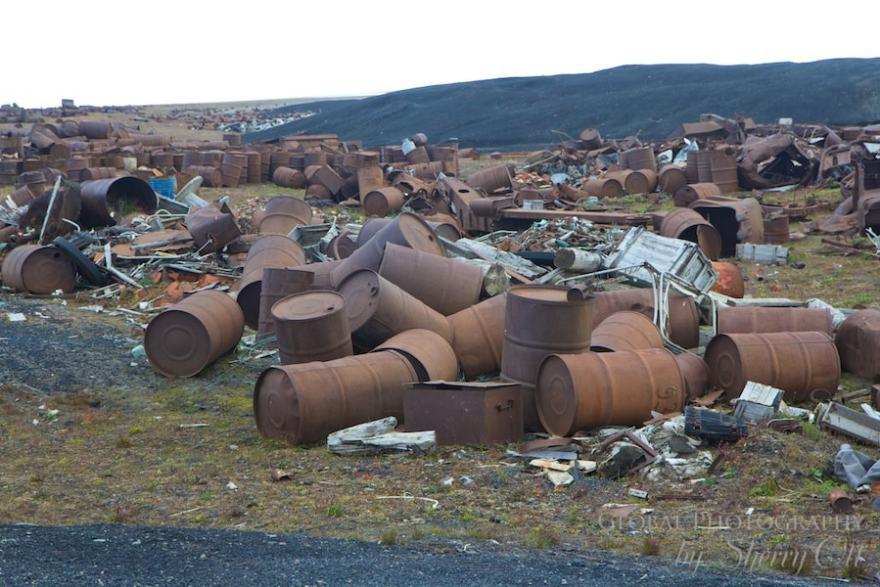 Wrangel Island garbage