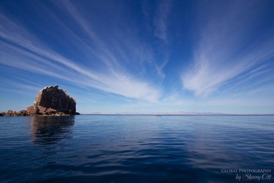 Sea of Cortez landscape