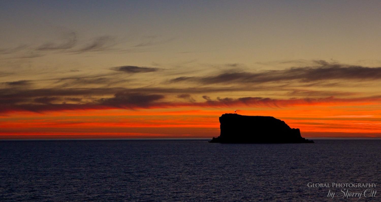 Sunrise Sea of cortez