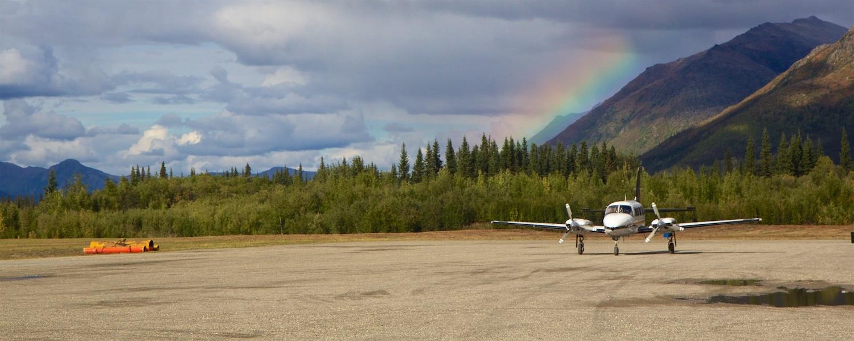 alaska bush plane cold foot