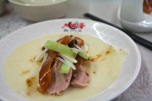 Food in china peking duck