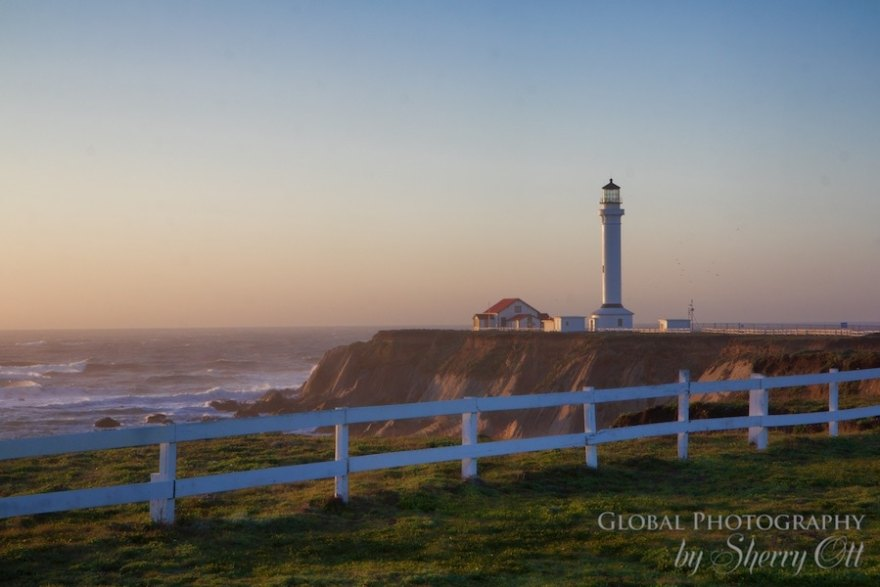 point arena lighthouse in northern california, a photo i took during a road trip