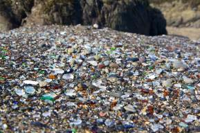 Glass Beach northern california