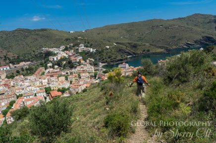 hiking portbou costa brava