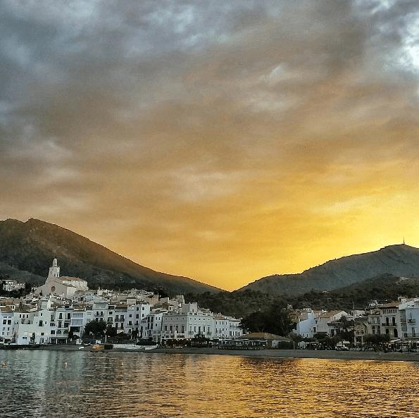 cadaques sunset