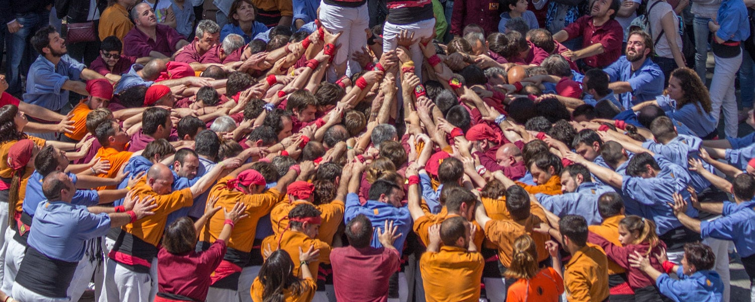 human towers catalonia