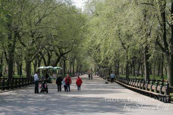 Central Park Poets Walk