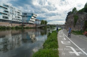 danube river biking ulm