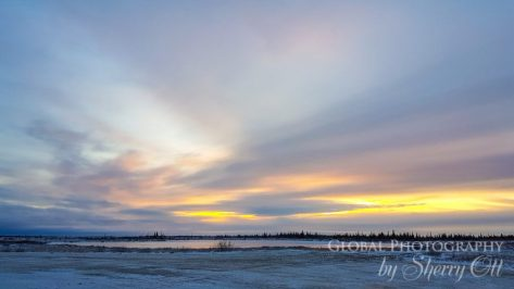 tundra sunrise churchill
