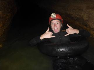 black water caving