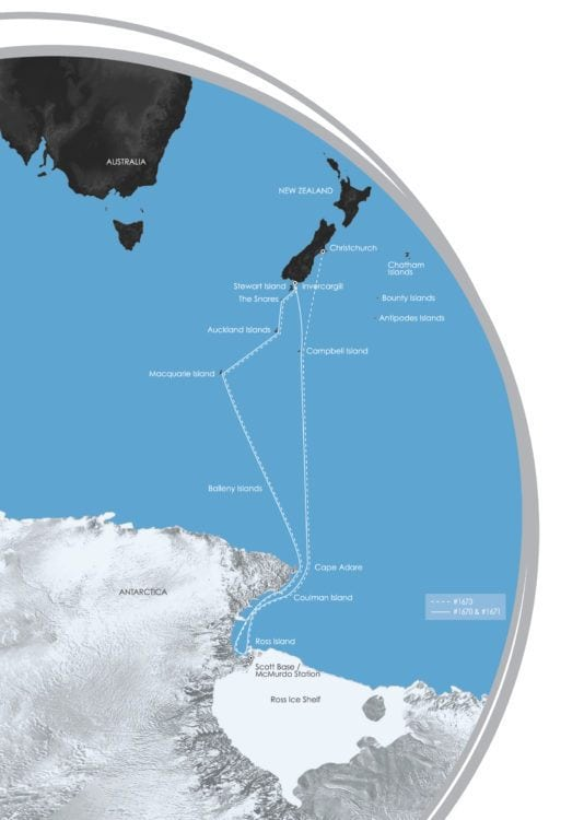 ross sea to Antarctica