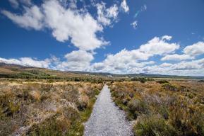 Tama Lake Hike Tongariro