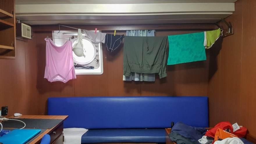 Antarctia packing list clotheline