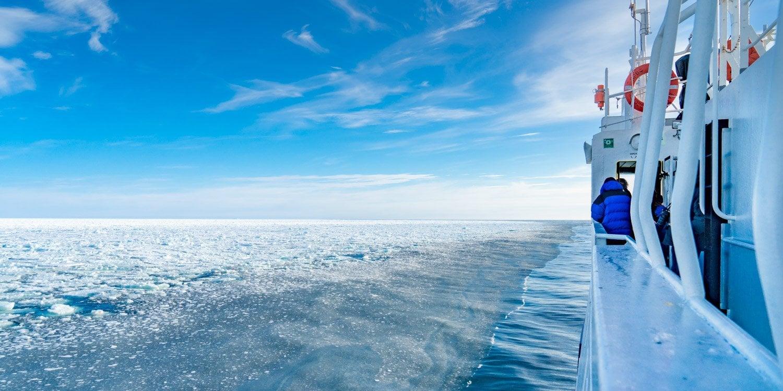 Ross Sea Ice Mcmurdo sound