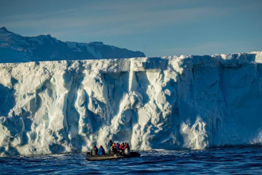 Posession island Ross Sea - a stop on the way to Antarctica through the Southern Ocean