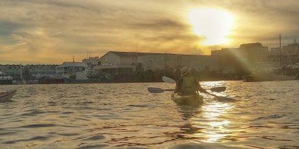 kayaking portland