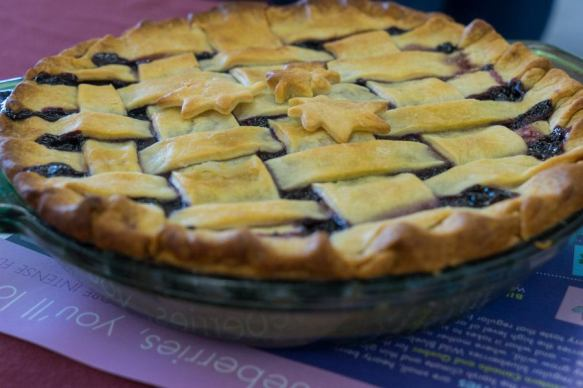 Maine blueberry pie contest