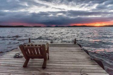 Millinocket Lake Maine north woods