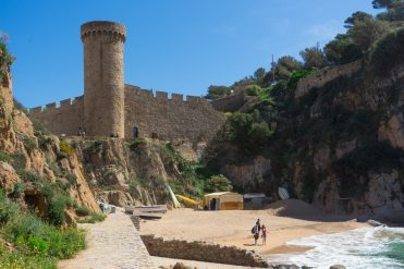 Tossa de Mar costa brava photo walk