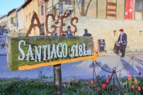 camino de santiago hike-