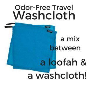 travel washcloth gift idea