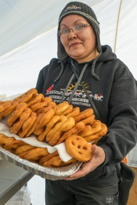 Muskrat Jamboree Inuvik eskimo donuts