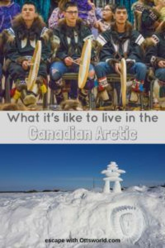 Life in Inuvik in the Canadian Arctic