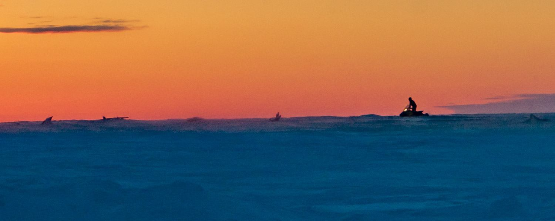 Tuktoyaktuk Arctic Canada