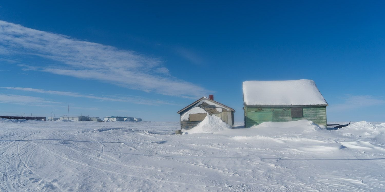 Architecture Tuktoyaktuk Arctic Canada