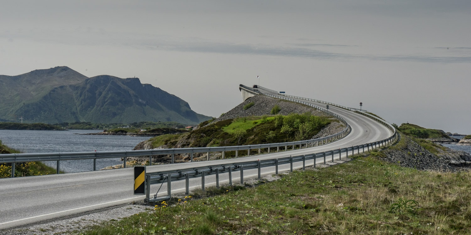Atlantic Ocean Road Norway Road Trip