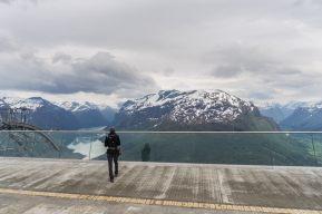 Norway Road Trip loen skylift